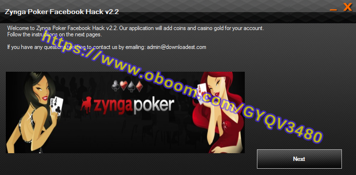 ZYNGA POKER FACEBOOK HACK 1