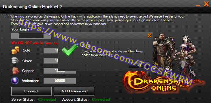 Drakensang Online Hack – Add Gold and Andermant | Cheat4Game