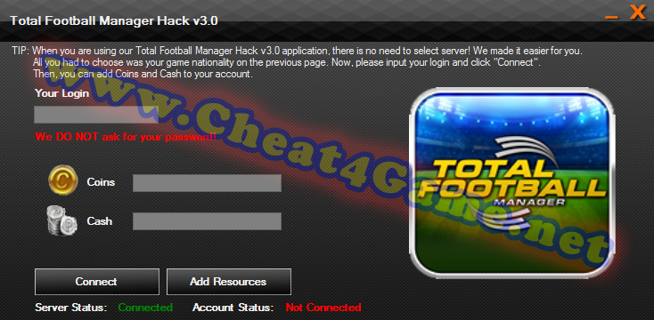 Total Football Manager Hack