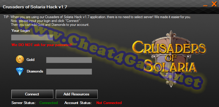 Crusaders of Solaria Hack tool