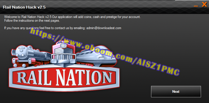 Rail Nation hack