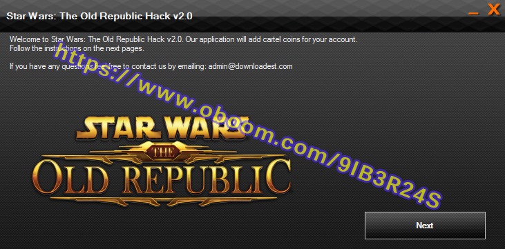 Star Wars The Old Republic hack