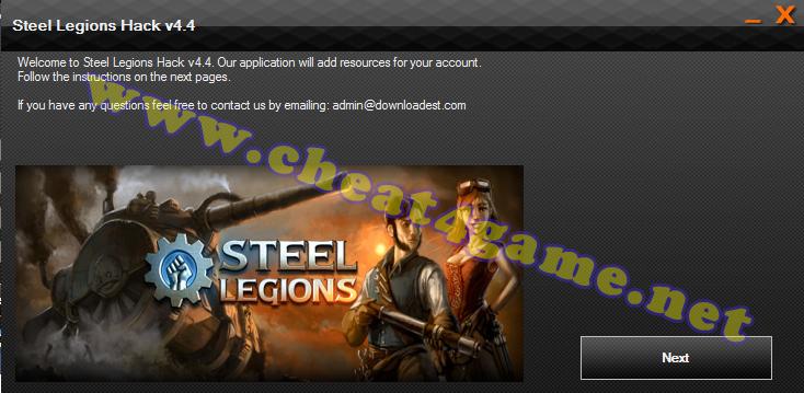 Steel Legions hack