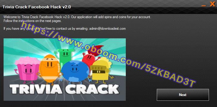 Trivia Crack Facebook Hack
