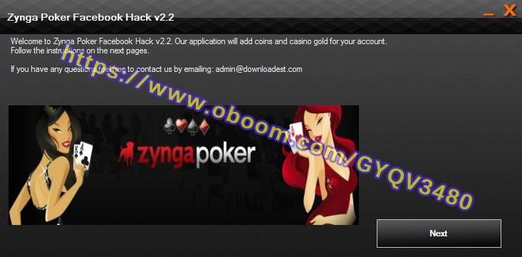 ZYNGA POKER FACEBOOK HACK 1