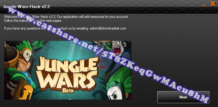 Jungle Wars hack