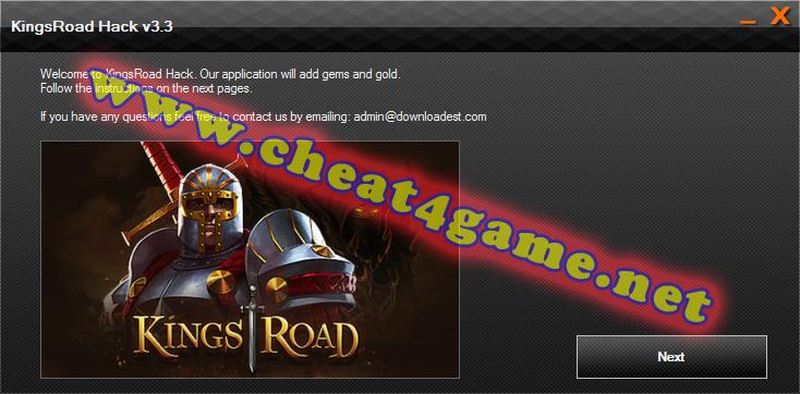 KingsRoad hack