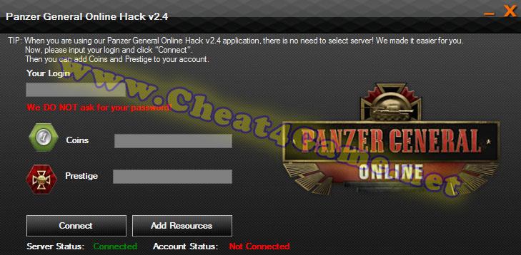 Panzer General Online Hack