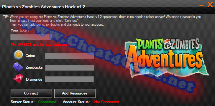 Plants vs Zombies Adventures Hack